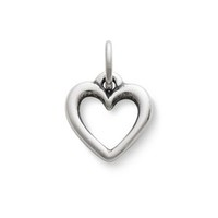 Open Wire Heart Charm