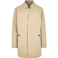 River Island MensBeige Only & Sons trench coat