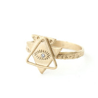 Spirit Eye and Triangle Ring