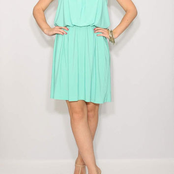 Mint Bridesmaid Dress Short mint green dress