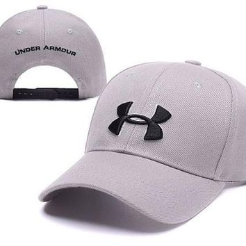 PEAPDQ7 Trendy Beige Under Armour Embroidered Outdoor Baseball Cap