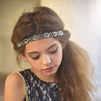 Boho City Glam Black Headband
