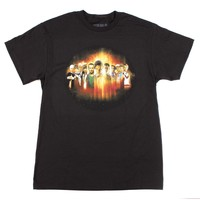 Dr Who Mens The Doctor Line Up Generation Montage T-Shirt