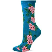 Hot Sox Tropical Floral Sock