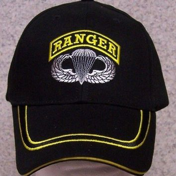 Embroidered Baseball Cap Military Army Airborne Ranger NEW 1 hat size fits all