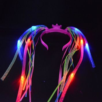 Fun Light Up LED Hair Headband