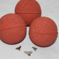 Shark Bait Bath Bomb- Shark Tooth Inside