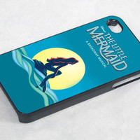 little mermaid movie cover - iPhone 4 Case ,iPhone 5 case,samsung galaxy s3 and Samsung galaxy s4 Hard Plastic Case