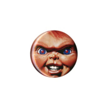 Child's Play Chucky Face Pin