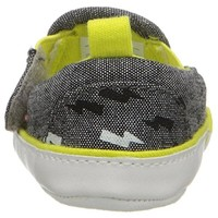 Rosie Pope Bolt of Sunshine Infant Boys Heathered Crib Shoes