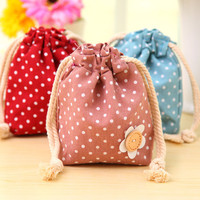 Portable Storage Cotton Linen Cotton Bags = 4877831492