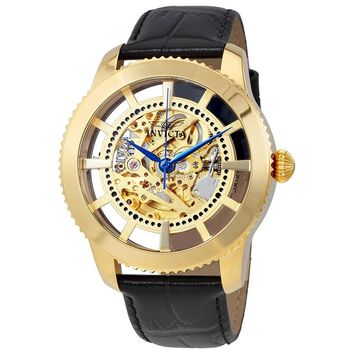 Invicta Vintage Automatic Gold Dial Mens Watch 23638