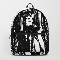 Freeda my Frida Black and White Backpacks by Azima