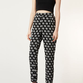Elephant Print Joggers - Pants - Clothing - Topshop USA