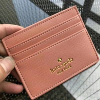 Kate Spade Women Fashion Leather Card Holder