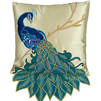 THRO by Marlo Lorenz Clara Fancy Peacock Decorative Pillow | Dillards.com