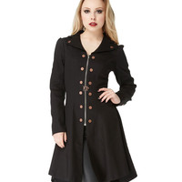 Voodoo Vixen Long Steampunk Jacket