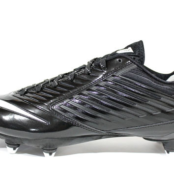 Nike Men's Vapor Speed Low D Black/White Football Cleats 643160 010