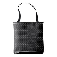 BW Point Graph Minor Monogram Tote Bag