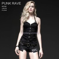 NEW Punk Rave Gothic Corset Waistcoat Vest Black Top Y499 ALL STOCK IN AUSTRALIA