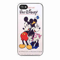 Walt Disney Vintage Mickey Mouse Character iPhone 5 Case