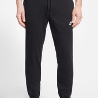 Men's Nike 'AW77' Cuffed Fleece Sweatpants,