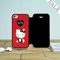Hello Kitty Red iPhone 4 |4S Flip Case