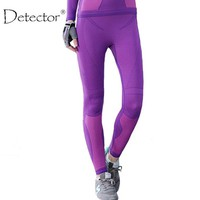 Detector Sport High Waist Slim Running Fitness Workout Spring Winter Women Legging pants