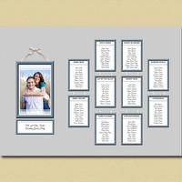 Photo Frame, Wedding Table Plan, Wedding Seating Chart, Engagement Photo, Seating Plan, Photo Seating Chart