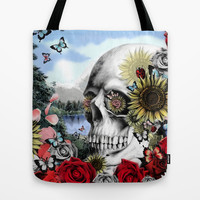 Reflection  Tote Bag by Kristy Patterson Design