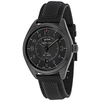 Hamilton Khaki Field Day Date Automatic Mens Watch H70695735