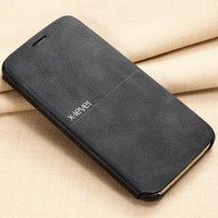 X-Level Leather Phone Case For Samsung Galaxy S7 S7 edge Ultra thin Flip Full Protective Cover For Samsung S7 S7 edge