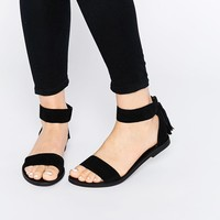 New Look | New Look 2 Part Flat Sandal at ASOS