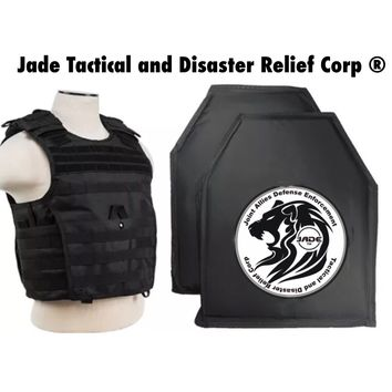 Jade Tactical Black NIJ IIIA Bulletproof Vest