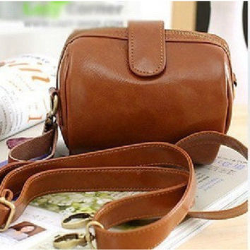 Hot Sale Brown Camera Shape Vintage Bags [6582897031]