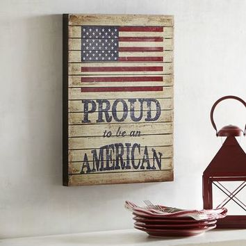 Proud American Wall Decor