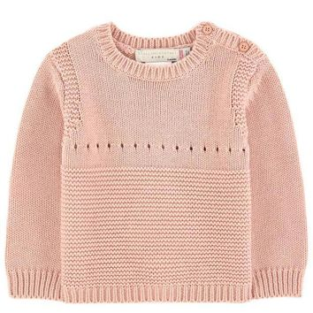 ESBMS9 Stella McCartney Baby Girls Cashmere/Cotton Bunny Sweater