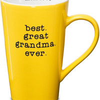 best great grandma ever Latte Mug