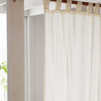 Mid-Century Modern Wooden Curtain Rod | Urban Outfitters