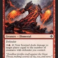 Magic: the Gathering - Vent Sentinel - Rise of the Eldrazi