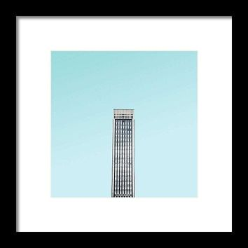 Urban Architecture - Oxford Street, London, United Kingdom 2 - Framed Print