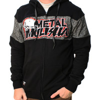 Metal Mulisha Men's Krew Killer Custom Full Zip Fleece Hoodie