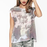 MY OWN WORLD JAGGED EDGE T at Wildfox Couture in  MULTI COLORED