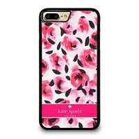 KATE SPADE NEW YORK PINK ROSE iPhone 4/4S 5/5S/SE 5C 6/6S 7 8 Plus X Case