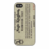 disney world readmission ticket case for iphone 5 5s