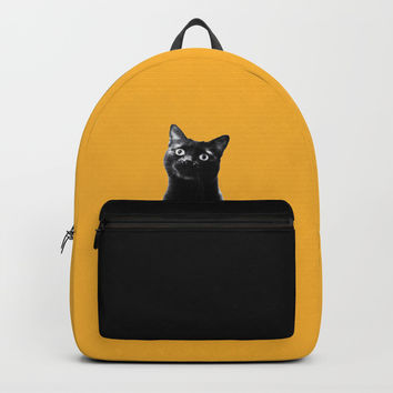 what's up? Backpack by Bunny Noir