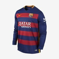 FC Barcelona Home Jersey Long-Sleeve