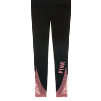 Flat Waist Yoga Leggings - PINK - Victoria's Secret