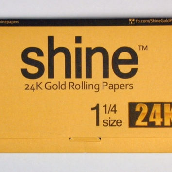 Shine 24K Gold Super King Size Paper