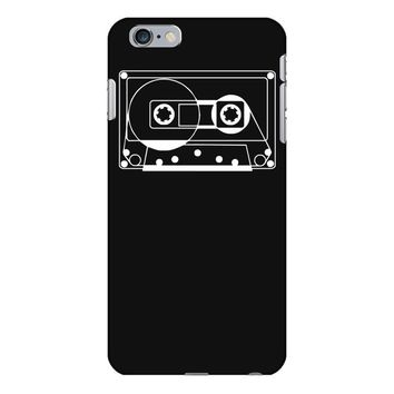 audio cassette 80's 90's party hip hop nostalgia retro iPhone 6 Plus/6s Plus Case